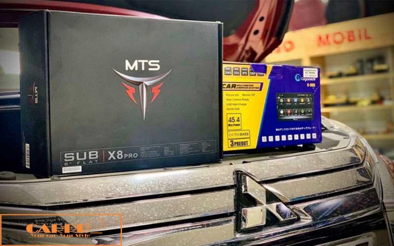 Loa Sub bass Gầm Ghế Xe Ô Tô MTS-X8PRO